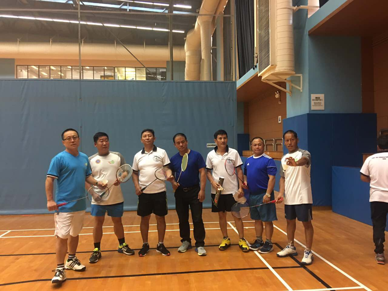 Badminton Photo Seniour